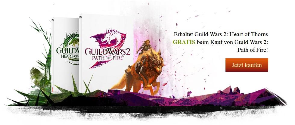 GW2 Path of Fire kaufen und Heart of Thorns kostenfrei dazu erhalten