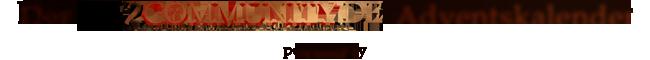 Der GW2Community-Adventskalender wird unterstützt durch:
