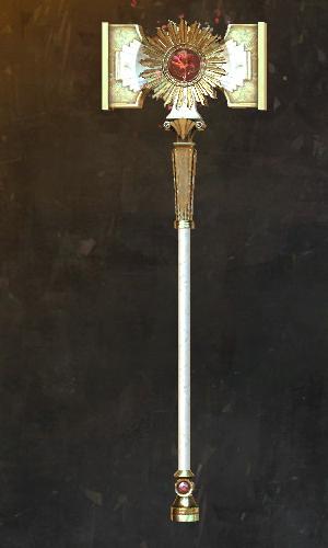 Hingebungsvoller Hammer