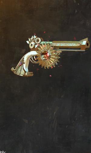 Hingebungsvolle Pistol