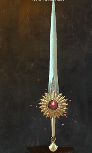 Hingebungsvolles Schwert
