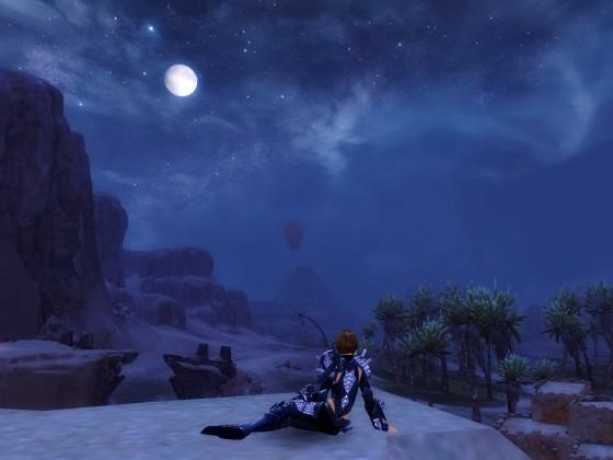 Nachts in der Wüste