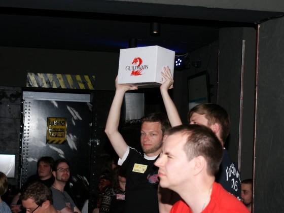 Auch gab es 2 der begehrten GW2-Toaster!