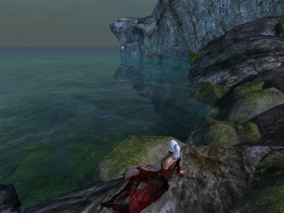 Ein Moment am Meer