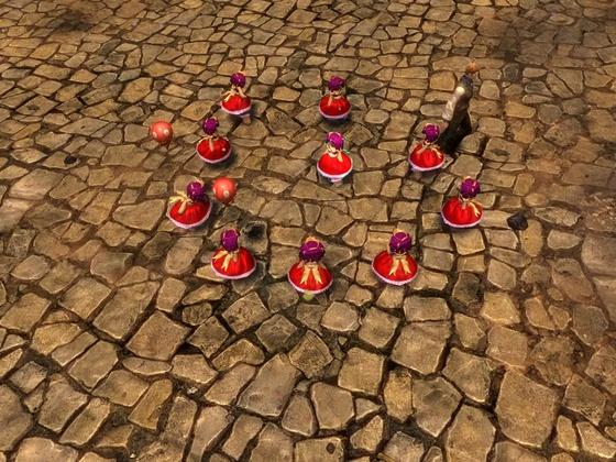 Prinzessinnenpuppen-Trank - Flashmob vom 29.07.2014