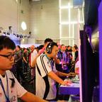 Die chinesischen Teilnehmer des Allstar-Turniers 1