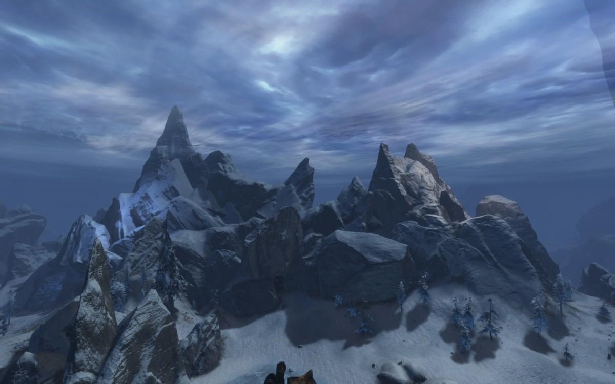 Blick auf die *Zugspitze* im Lornars-Pass ;-)