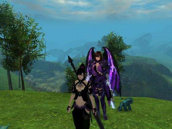 Luluca (Fânfalar) und Lugar (Lysanna Von Doric) das Dreamteam.