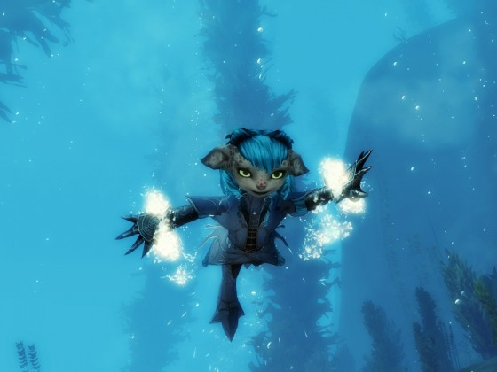 Nyra Unterwasser