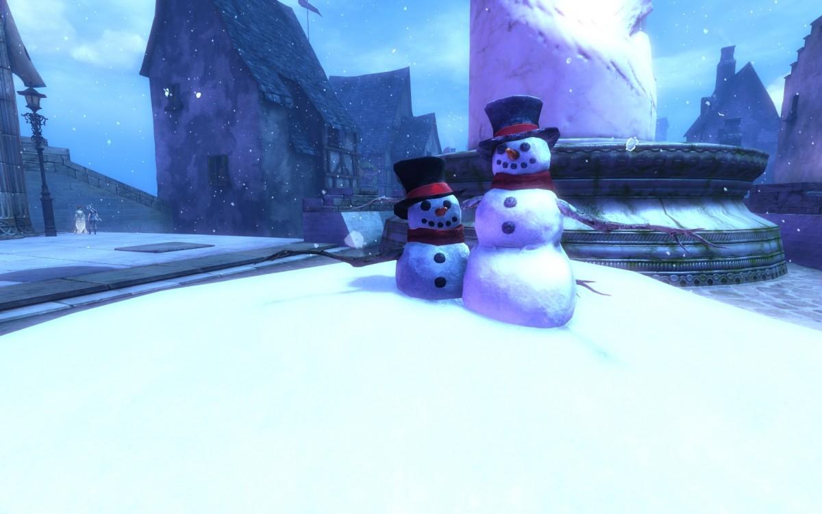 *Schneemann klein* und *Schneemann groß*