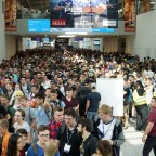 Volle Hallen bei der gamescom