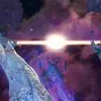 Zerschmettertes Observatorium