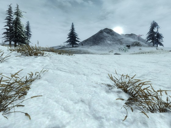Winterzauberland Lornars Pass
