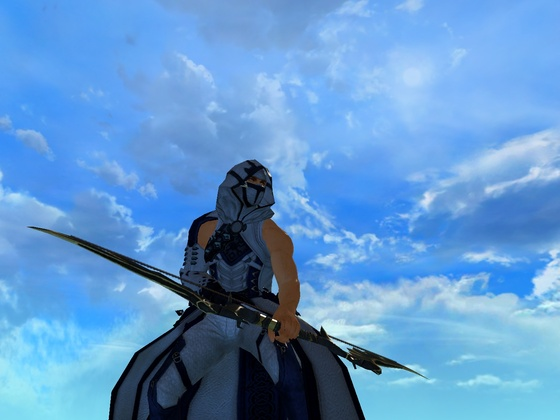 Dreyarnis unter blauem Himmel