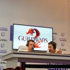 Chronick und Grouch kurz vor dem 1. PvP Match des Allstar-Turniers