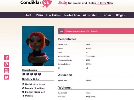 Condiklar - Für Condis mit Niveau *hust*