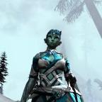 Eiskönigin im Bitterfrost