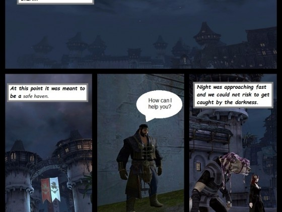 Guild wars 2 Comic - Chapter One - Page 1