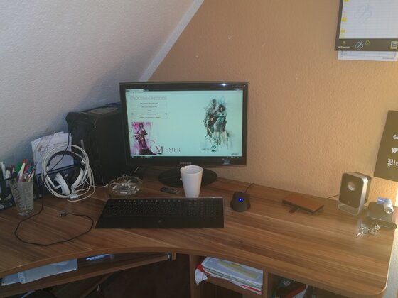 Steffis Home-Office :P