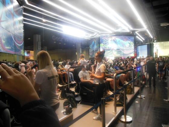 Games Com 2016 - Samsung Virtuelle Achterbahn