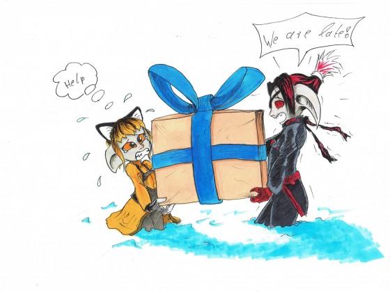 Verspätetes Weihnachtsgeschenk.