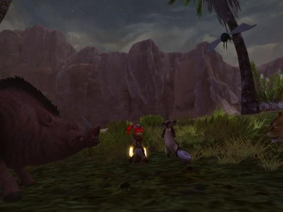 Zu Besuch bei Timon, Pumba und Simba