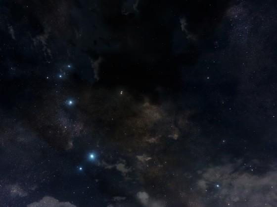 Sternenhimmel über Kristallwüste - Bild 2