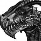 """Raptor <3 - Mein erstes """"Werk"""" am Grafiktablet :3"""