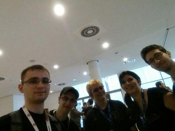 Erstes Gruppenfoto der GW2Community