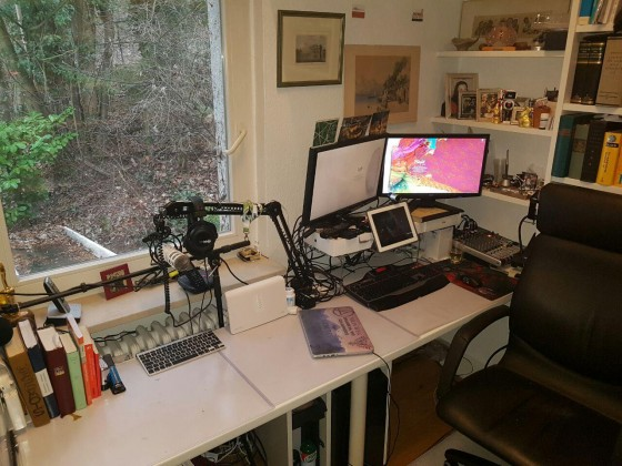 Mal ein kleines Schreibtisch-Update!
