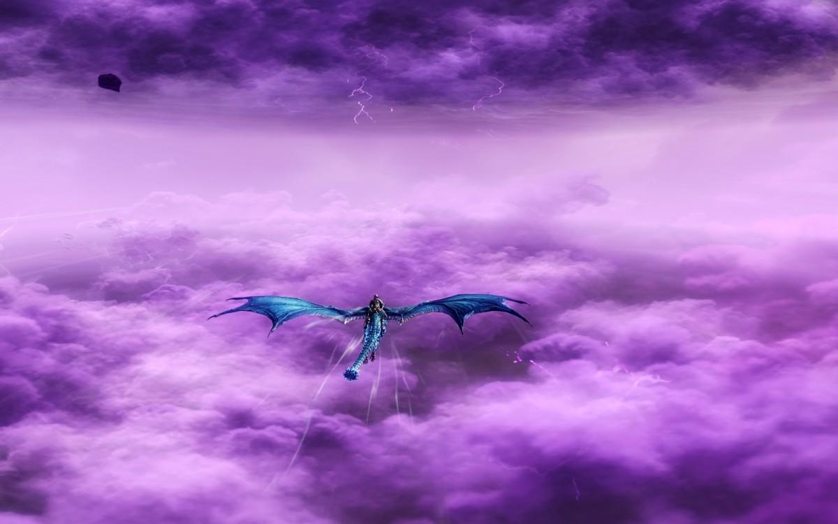 wie im 7. Himmel ^^ .... lila Wölkchen ^^  ..... äähm .... Wolken ;-)