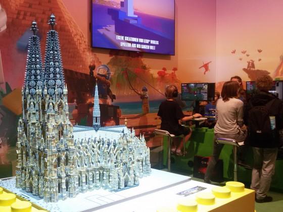 Gamescom 2016 Kölner Dom aus Lego