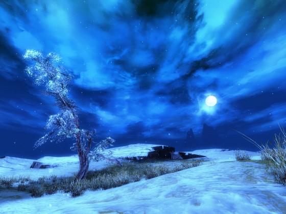 der schiefe Baum von Glückstal  ^^ ...... bei Nacht ^^