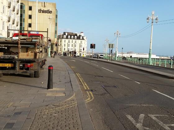 Promenade in Brighton