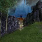 Akumo auf dem weg mit dem Fliegenden Teppich nach Nevermore