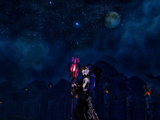 Reaperfield bei Nacht