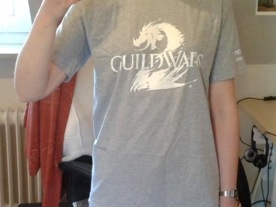 Das T-Shirt passt!