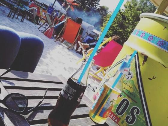 Sommer Sonne Strand und die Oker
