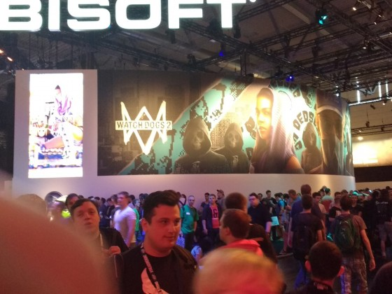 Games Com 2016 - Ubisoft Watch Dogs 2