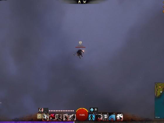 Der fliegende NPC-Wächter