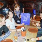 GW2Community.de beim Abendessen von ArenaNet