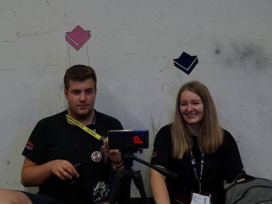 Vlog & Stream aus den Messehallen